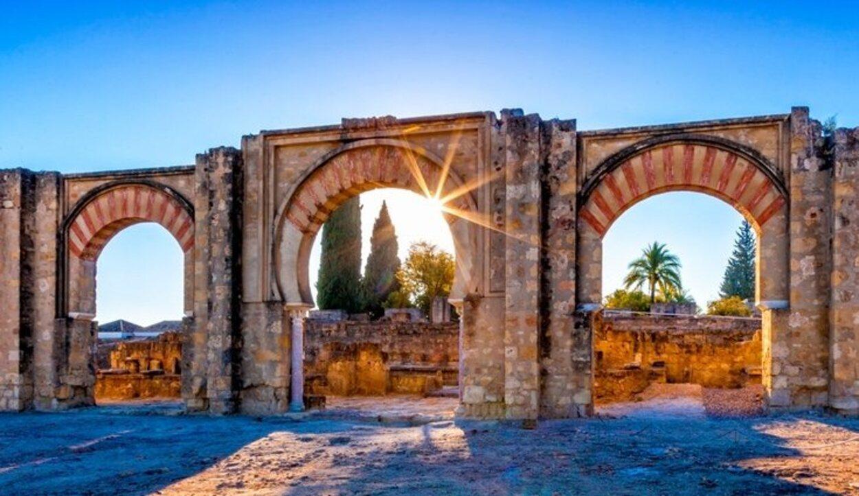 Las ruinas del Medina Azahara