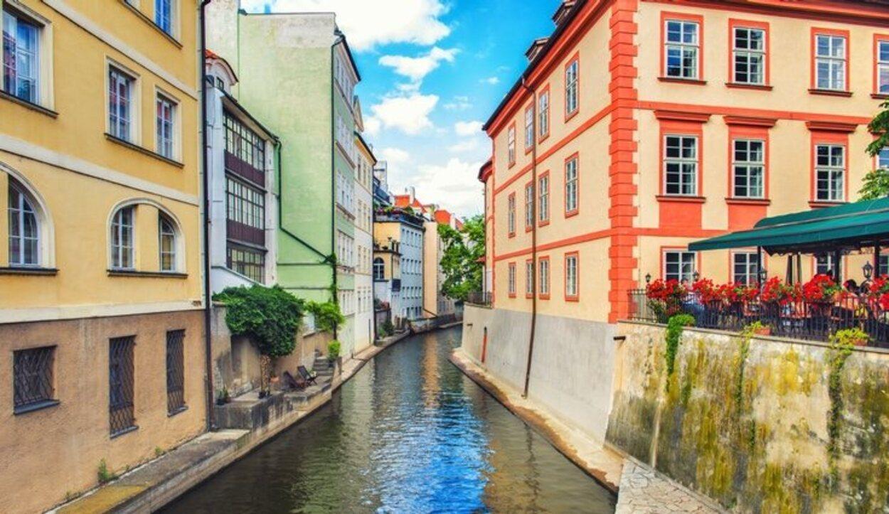 En la Isla de Kampa están los restaurantes más románticos de Praga