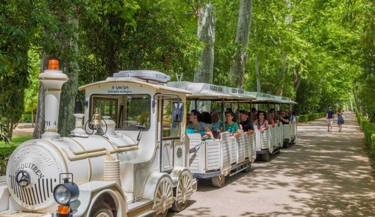 Un tren turístico de lo más útil si no se dispone de coche