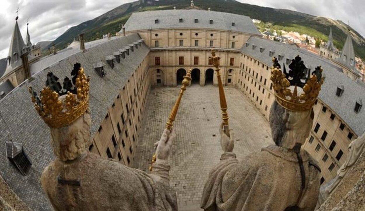 El Patio de los Reyes | Foto: Real Monasterio de San Lorenzo de El Escorial
