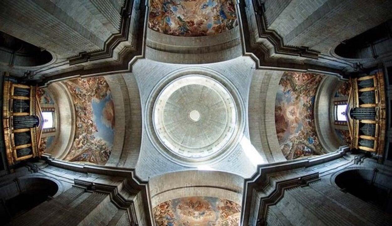 Las bóvedas del Monasterio de El Escorial | Foto: Real Monasterio de San Lorenzo de El Escorial