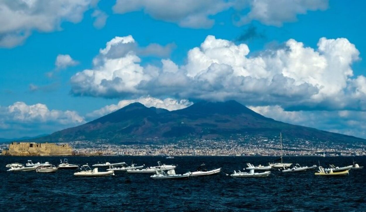 Murieron más de 2000 personas en esta tragédia debido a la erupción del volcán Vesubio