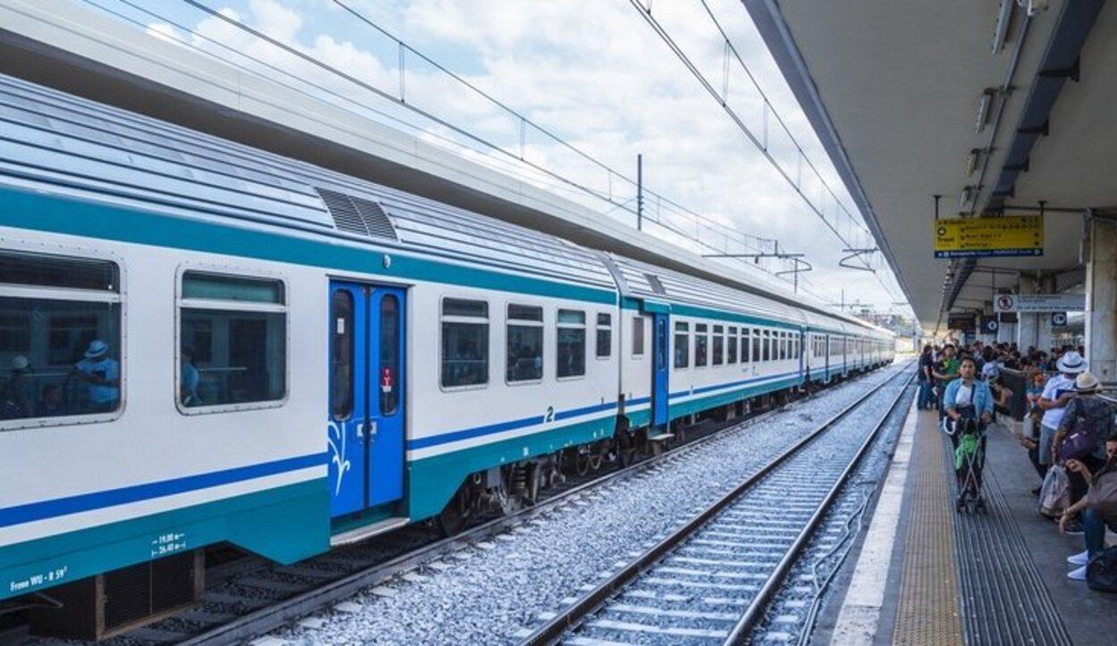 La mejor manera de llegar a Tívoli es en tren