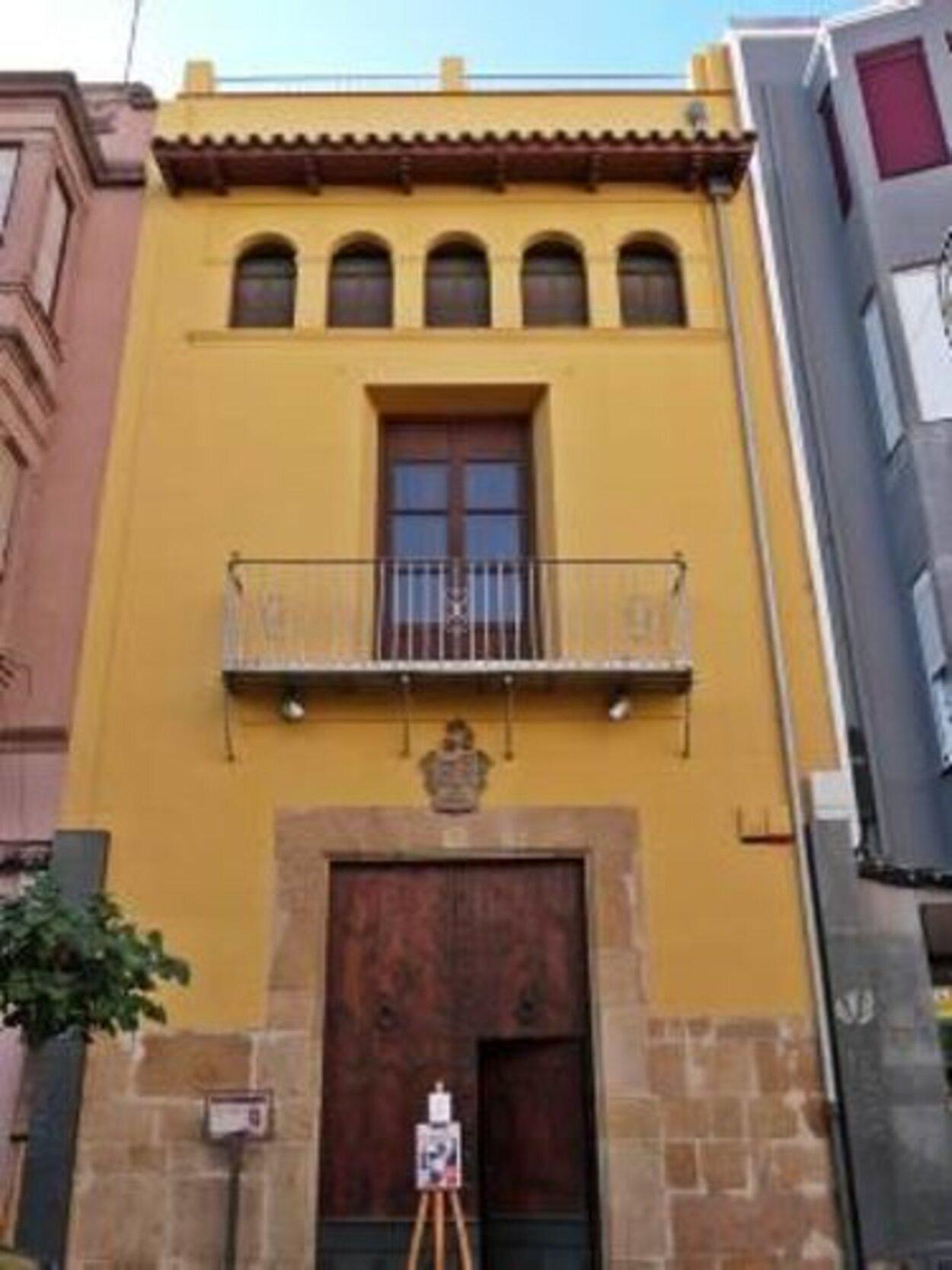 La Casa Membrillera hoy en día cumple la función de museo   Foto: Turismo de Vinaroz