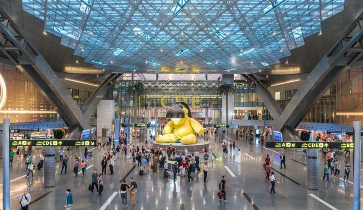 El aeropuerto de Qatar es considerado uno de los más modernos construidos hasta la fecha