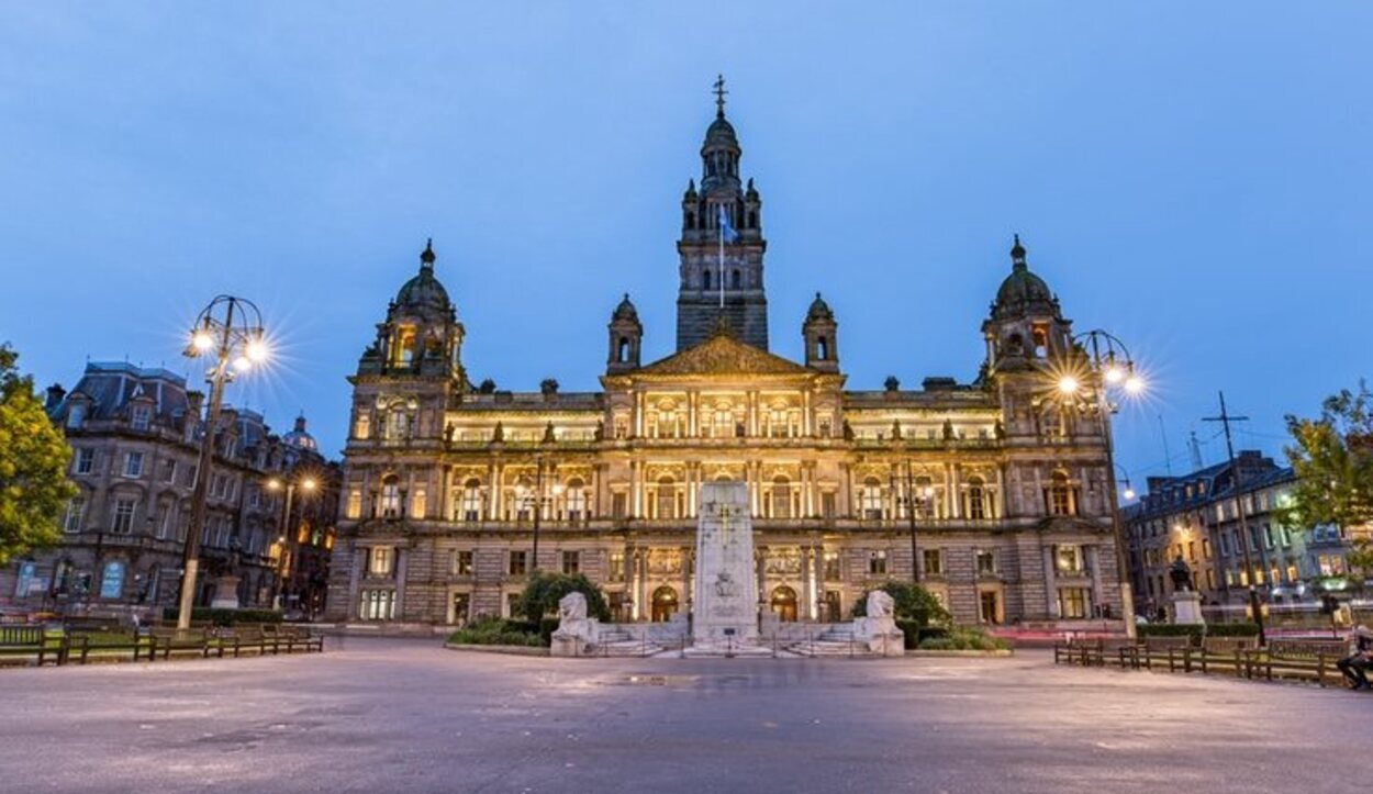 George Square en Glasgow
