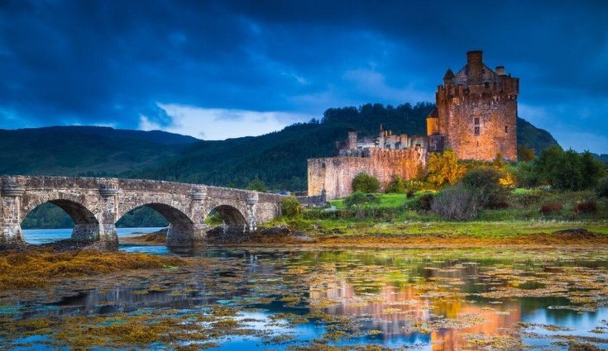 El impresionante Castillo de Eilean Donan