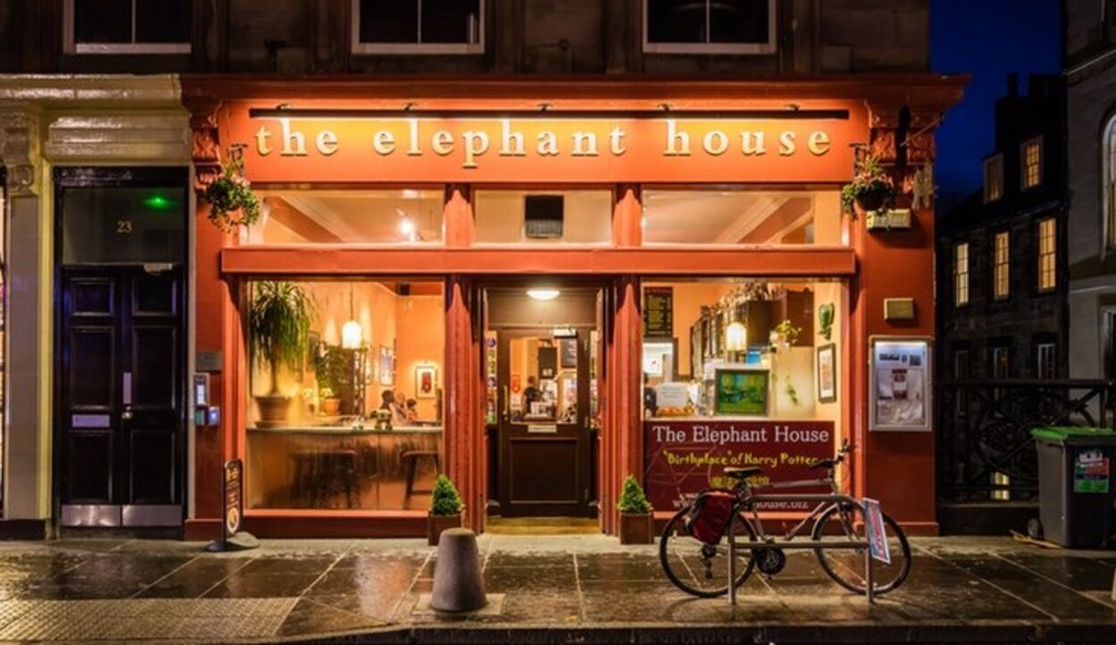 El famoso 'The Elephant House' de Harry Potter