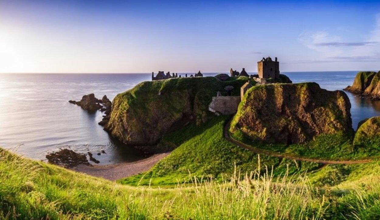 El Dunnottar Castle en Escocia