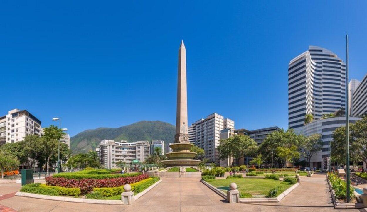 Plaza Altamira en Caracas