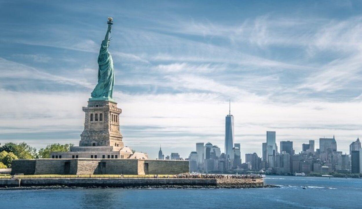 La estatua de la Libertad de Nueva York