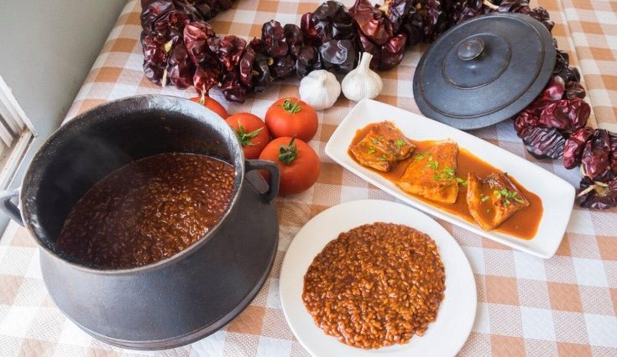 El arroz caldero es el plato típico por excelencia de la costa marciana /Ayuntamiento de Cartagena
