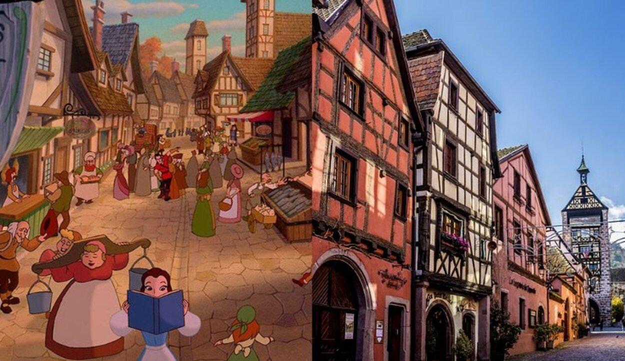 El pueblo francés en el que se inspiró para hacer el pueblo de 'La Bella y la Bestia'