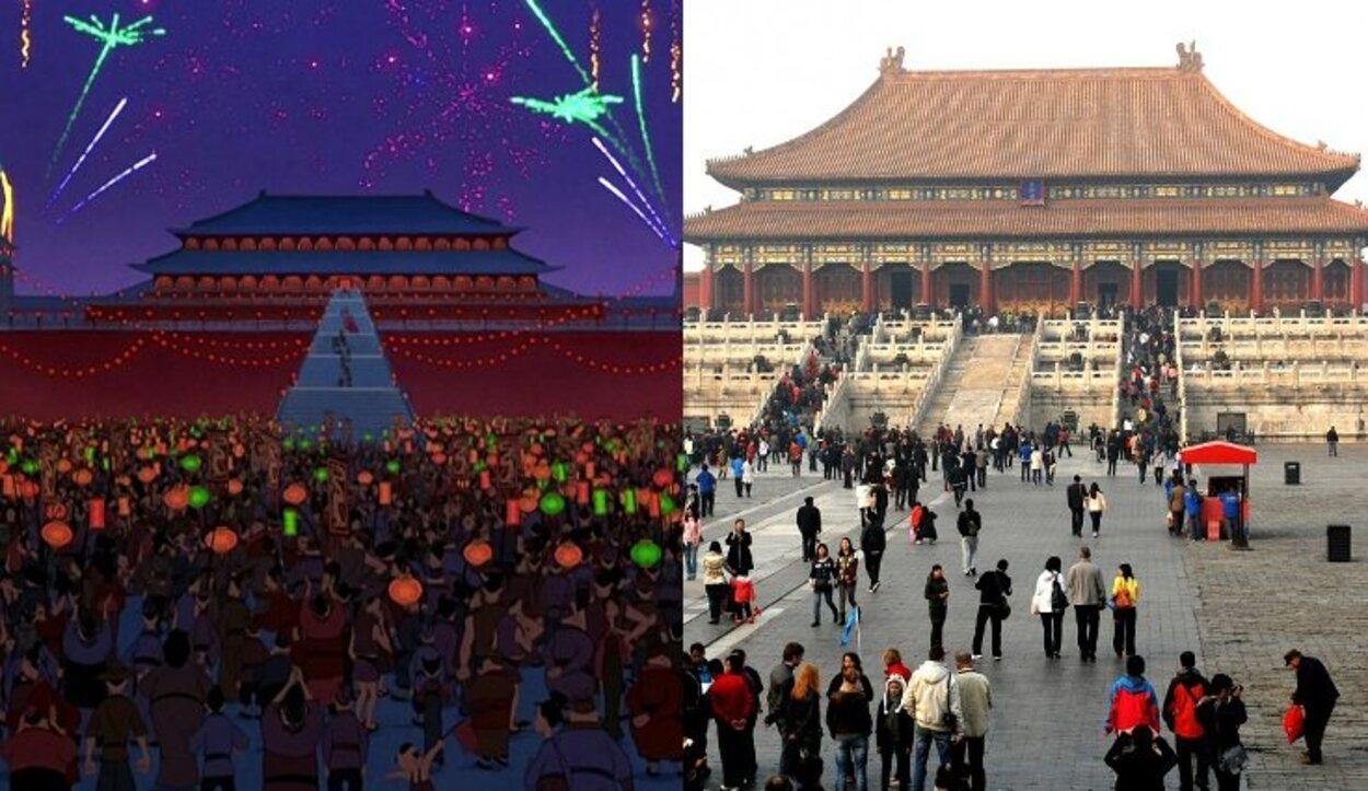 La Ciudad Prohibida de Pekín es un complejo palatino del siglo XV