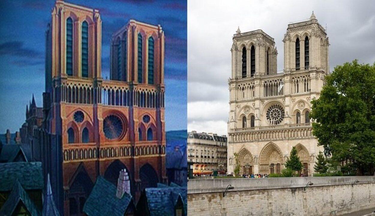 La Catedral de Notre Dame es uno de los símbolos por excelencia de París y del arte gótico