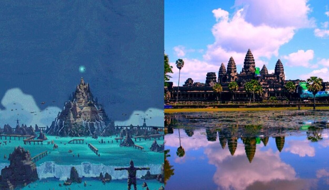 La legendaria ciudad Atlántica está inspirada en el tempo Angkor Wat