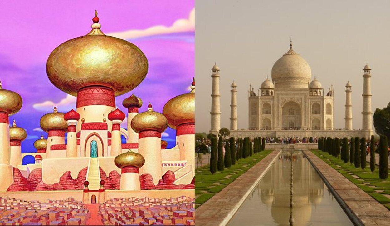El Taj Mahal está localizado en La India