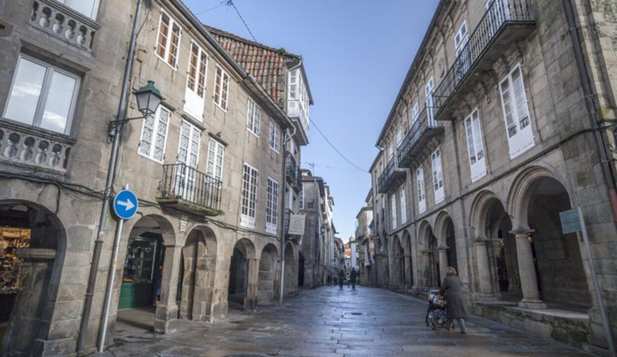 El Museo do Pobo Galego se encuentra junto al Barrio de San Pedro