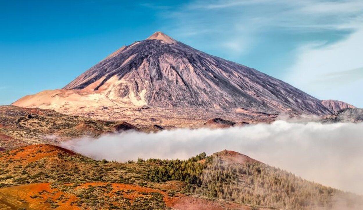 El Teide es el pico más alto de España