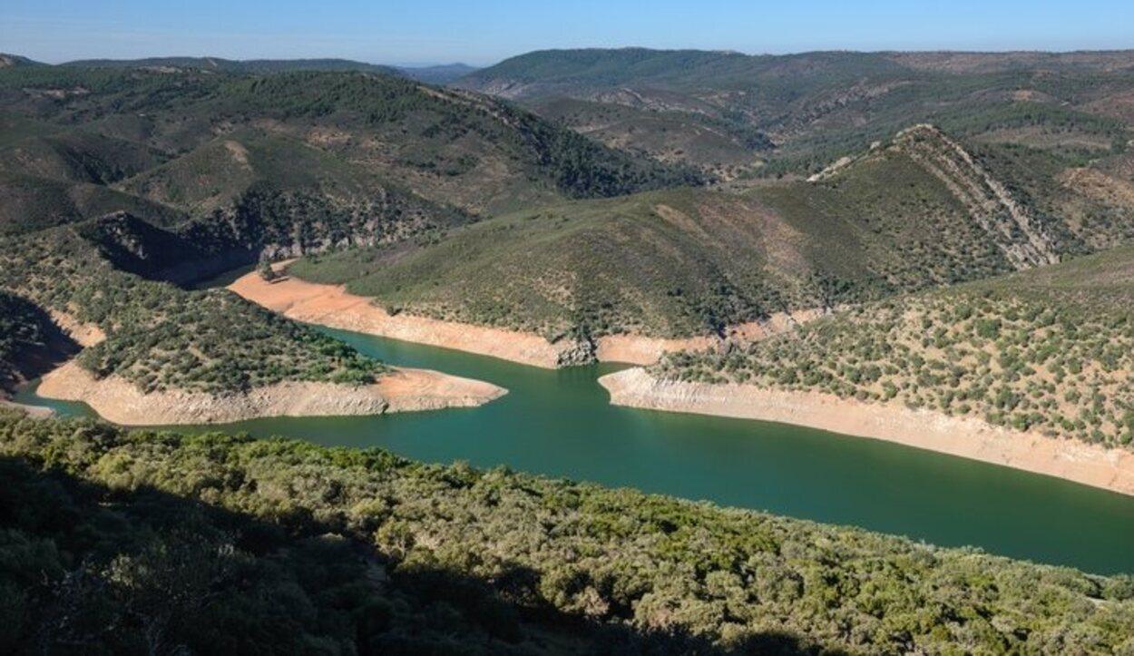 Los ríos Tajo y Tiétar atraviesan el Monfragüe