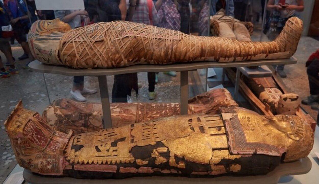 La palabra más buscada en la web del British es 'Egipto', ¿tendrá algo que ver con la gran colección que tienen?