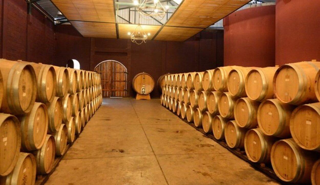 La bodega de vino del Valle de Colchagua