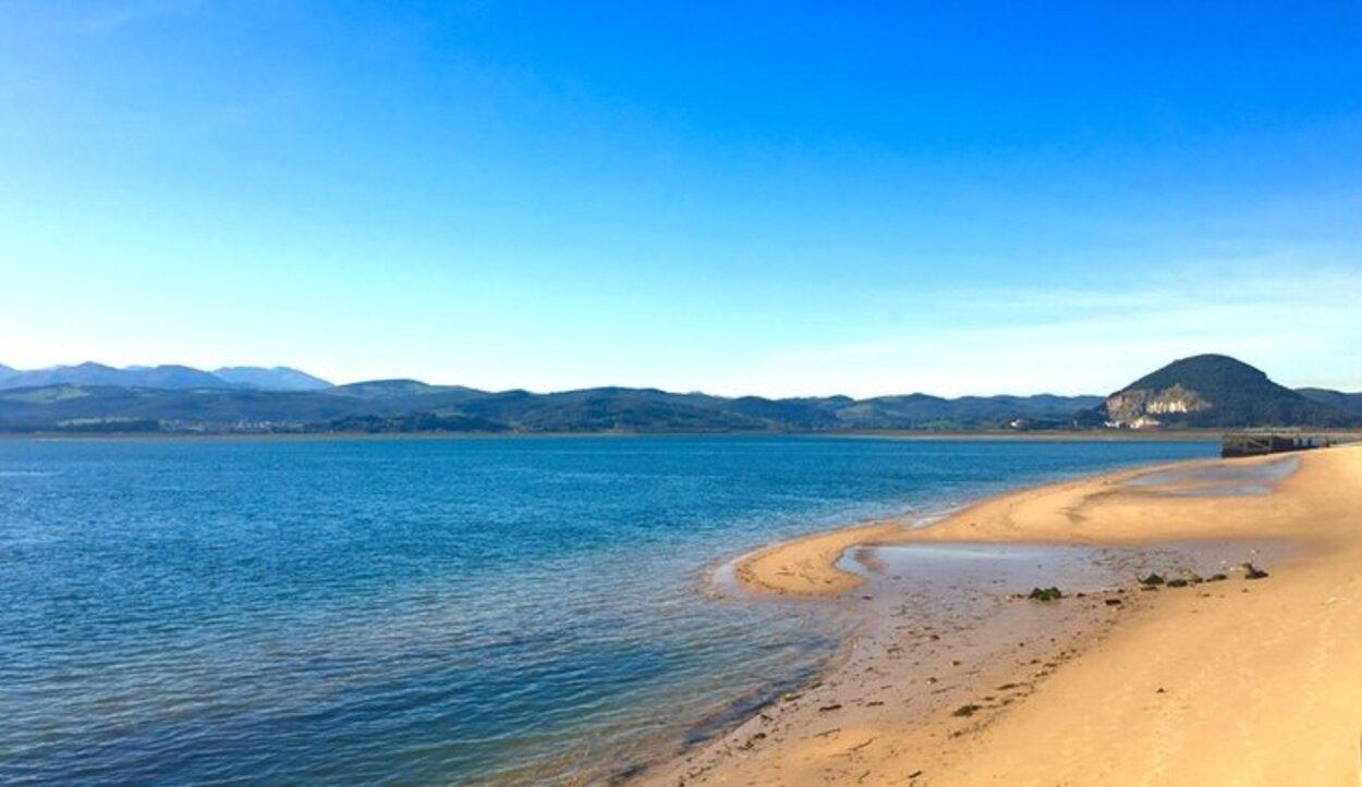 Disfruta de la playa de Santoña y sus vistas