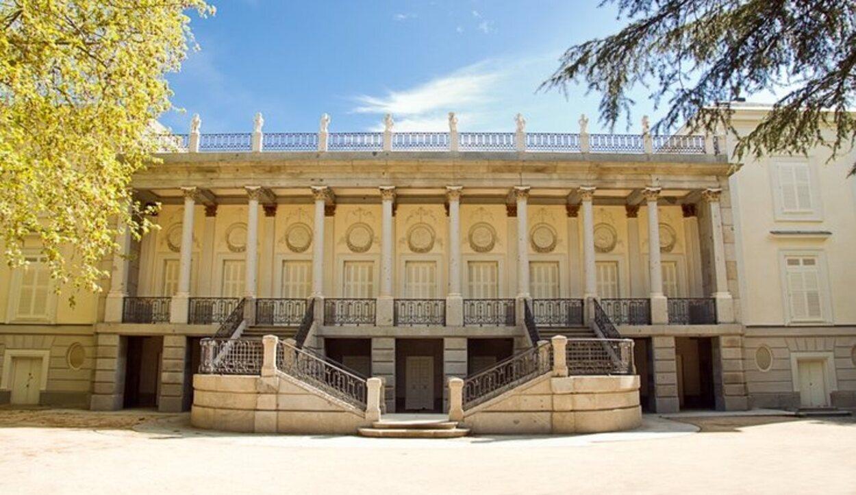 Palacio en el que los Duques de Osuna pasaban sus vacaciones