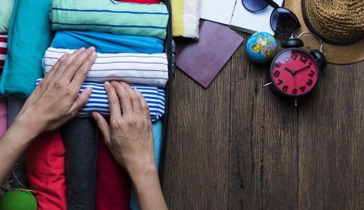 A la hora de hacer la maleta la ropa cómoda y de sport es la mejor opción