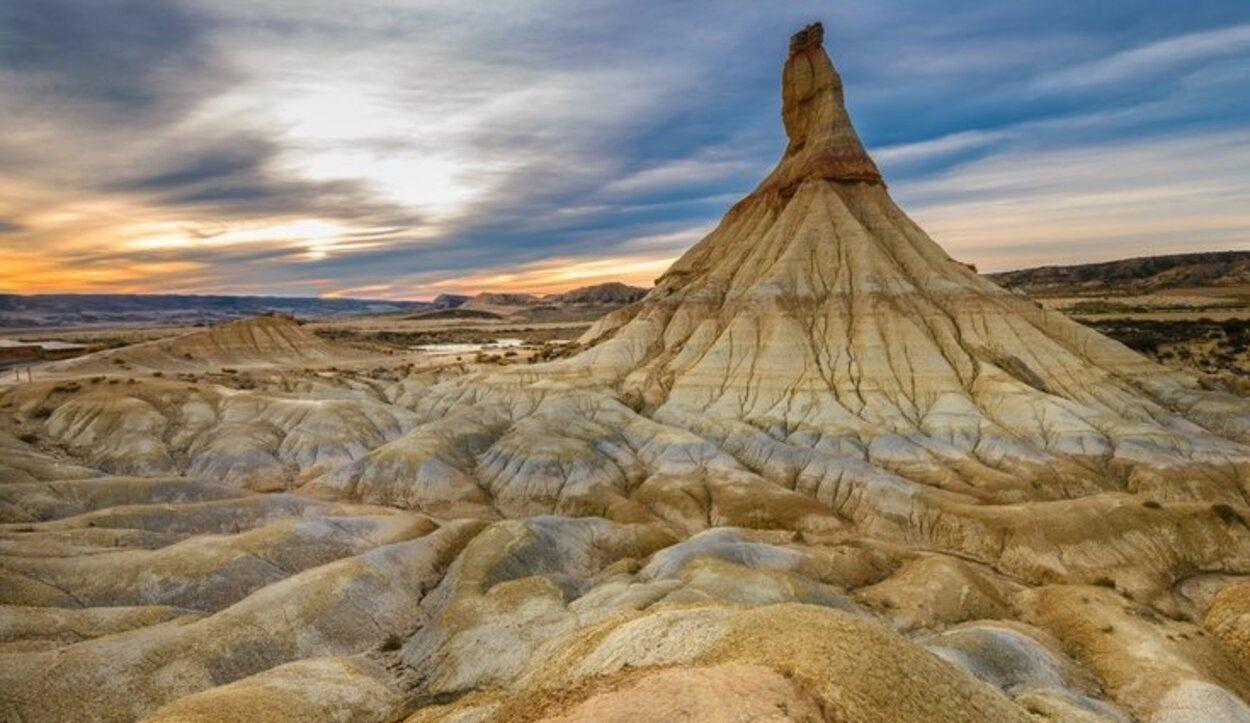El desierto de Navarra tiene más de 42.000 hectáreas