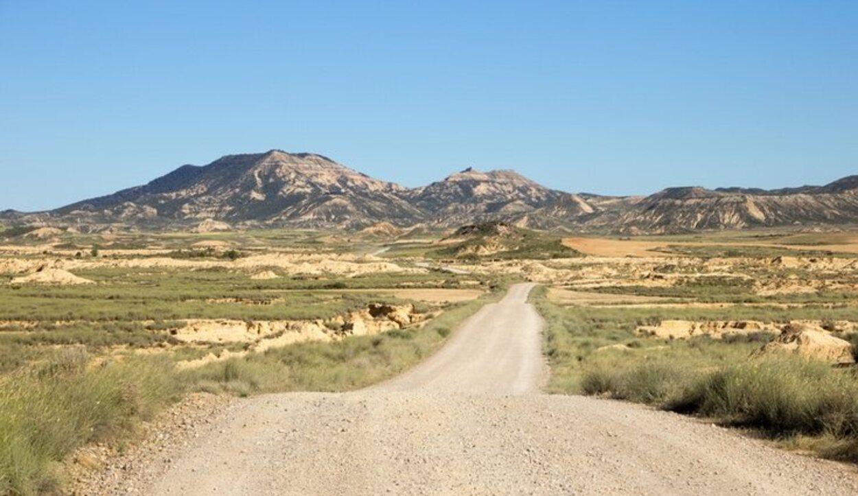 Por el desierto uno se puede mover en coche, bicicleta o caballo
