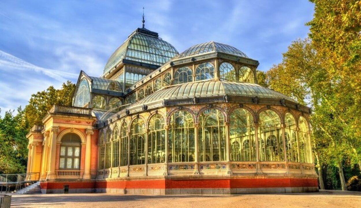 El Palacio de Cristal es uno de los edificios más bonitosc