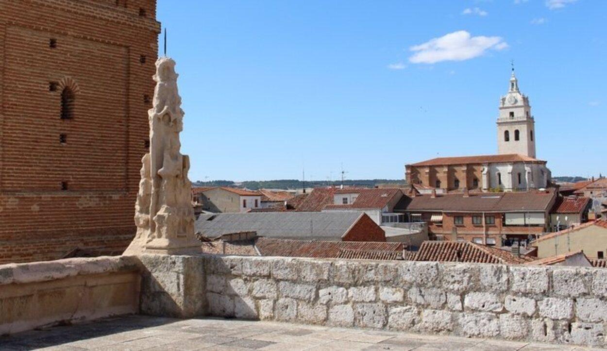 Las vistas de Tordesillas desde la iglesia de Santa María