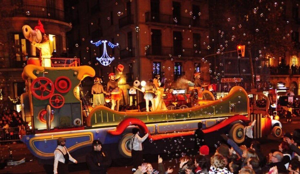 La cabalgata de Reyes es una tradición