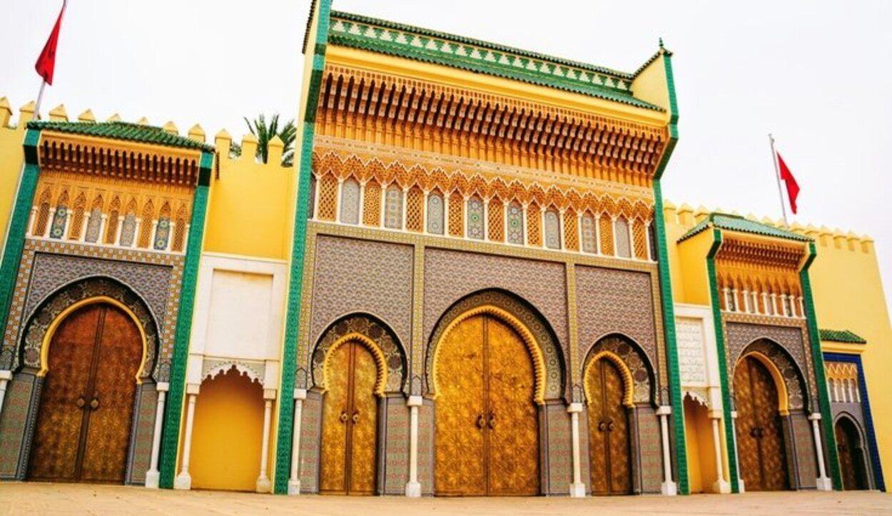 Palacio Real marroquí en Rabat