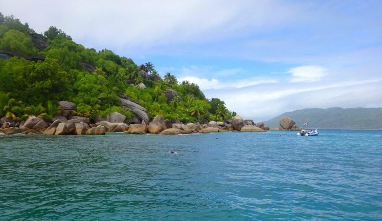 Vistas de la isla Felicité/ Foto: Tamara Garco