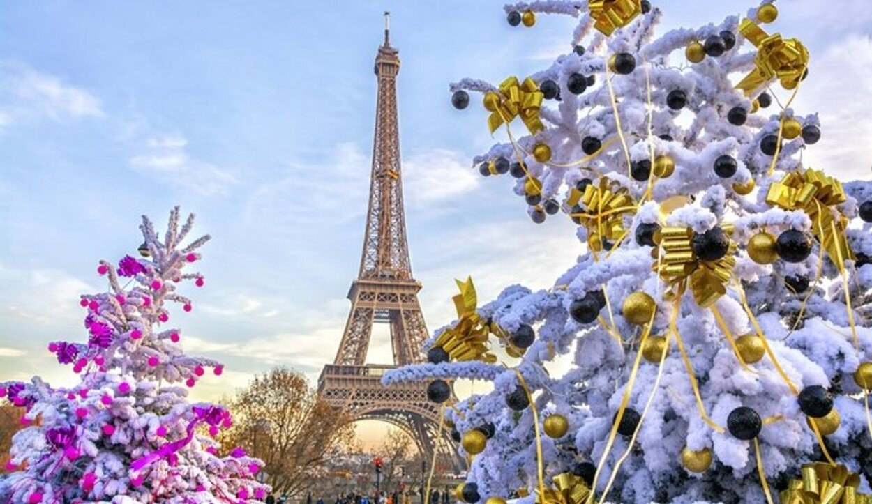 París brilla más que nunca en época navideña
