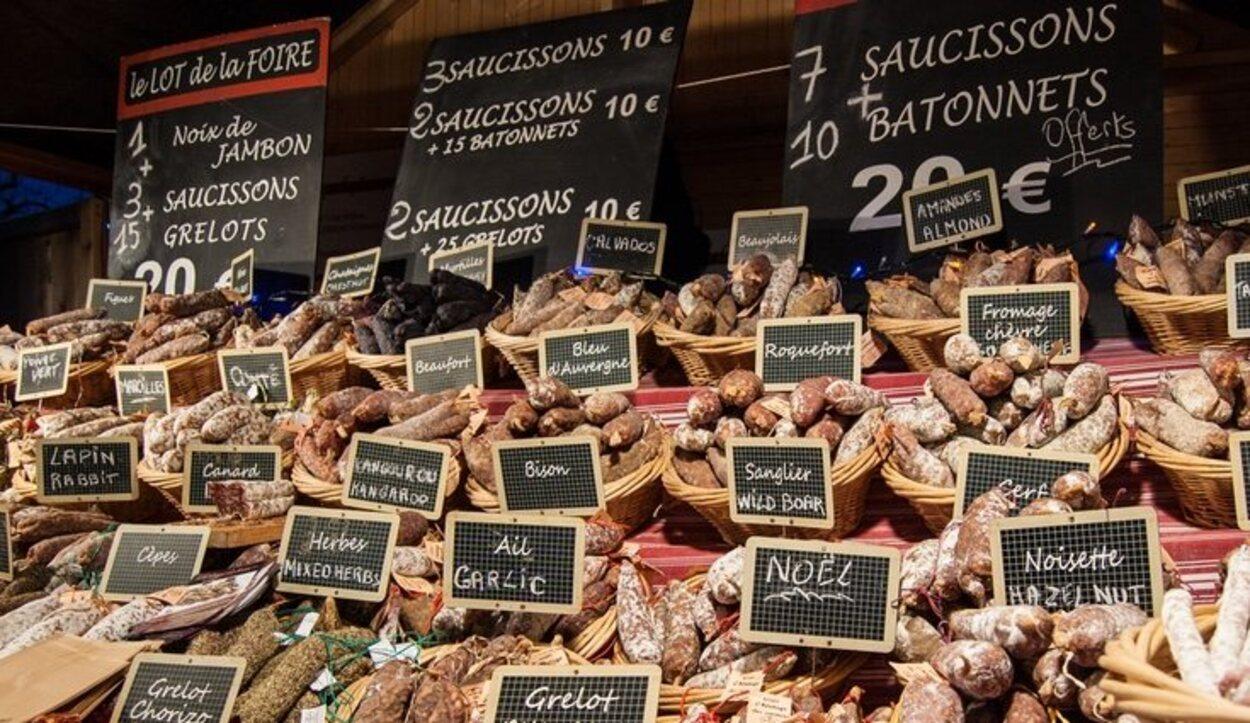 La carne de pato o de oca es una de las más famosas en París