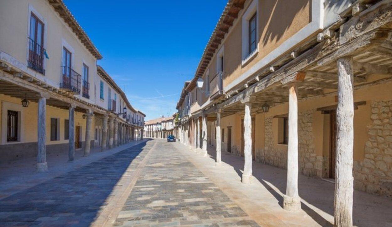 Calles de Palencia con un estilo medieval