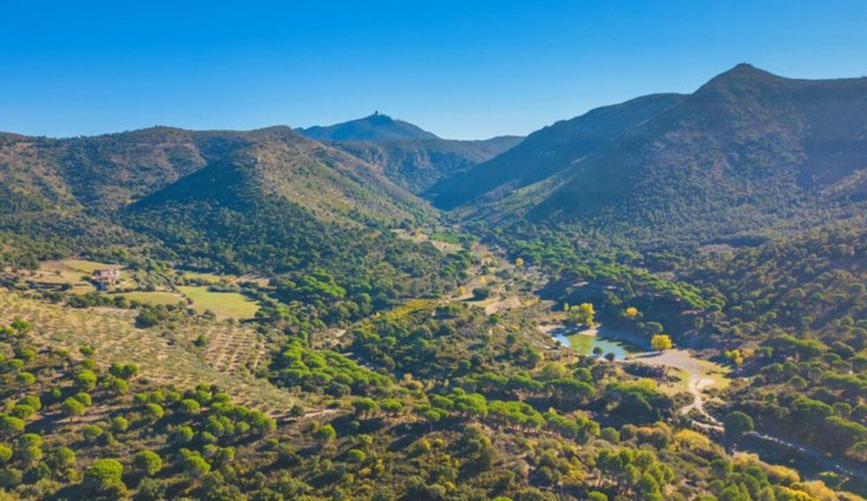 Vistas del paisaje durante la ruta de los Masos