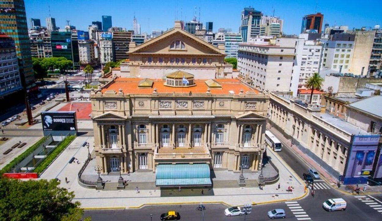 El Teatro Colón es uno de los más importantes de todo el mundo