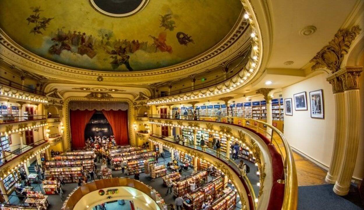 Aún no ha llegado la extinción de la librerías a Buenos Aires, en parte gracias al Ateneo