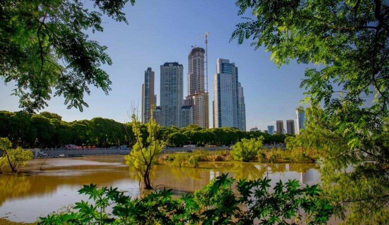 Las zonas verdes nos permitirán respirar aire totalmente limpio y en plena ciudad