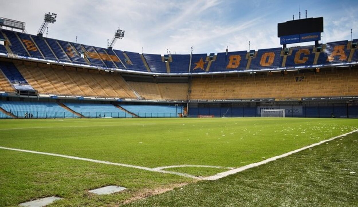 El estadio de La Bombonera, uno de los mayores templos del fútbol