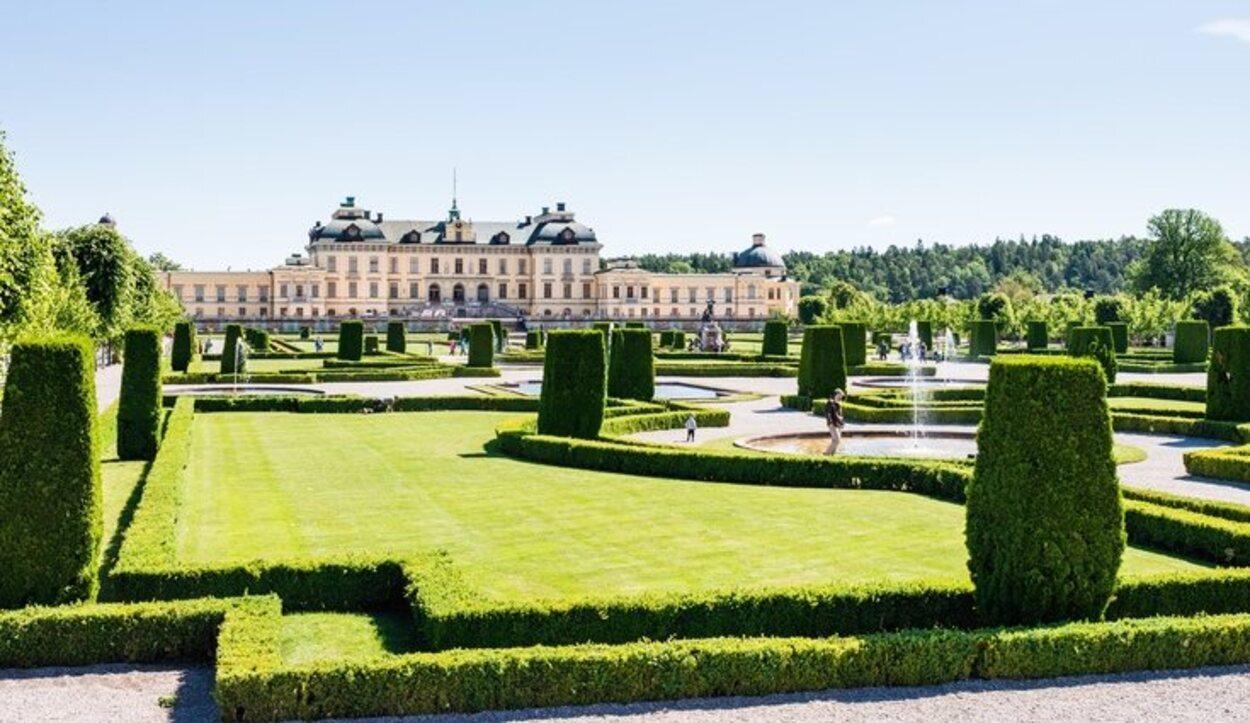 El Palacio de Drottningholm es la residencia de los Reyes de Suecia
