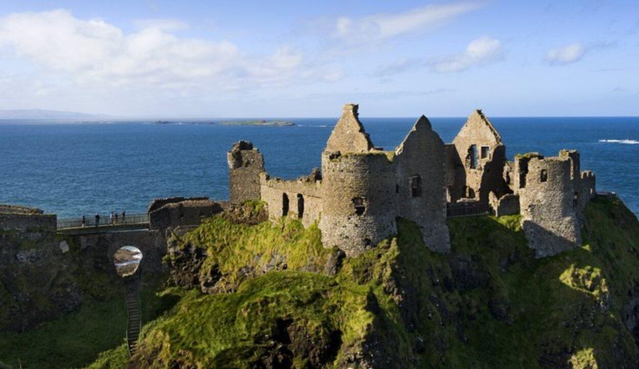 El Castillo de Dunluce fecha de 1608