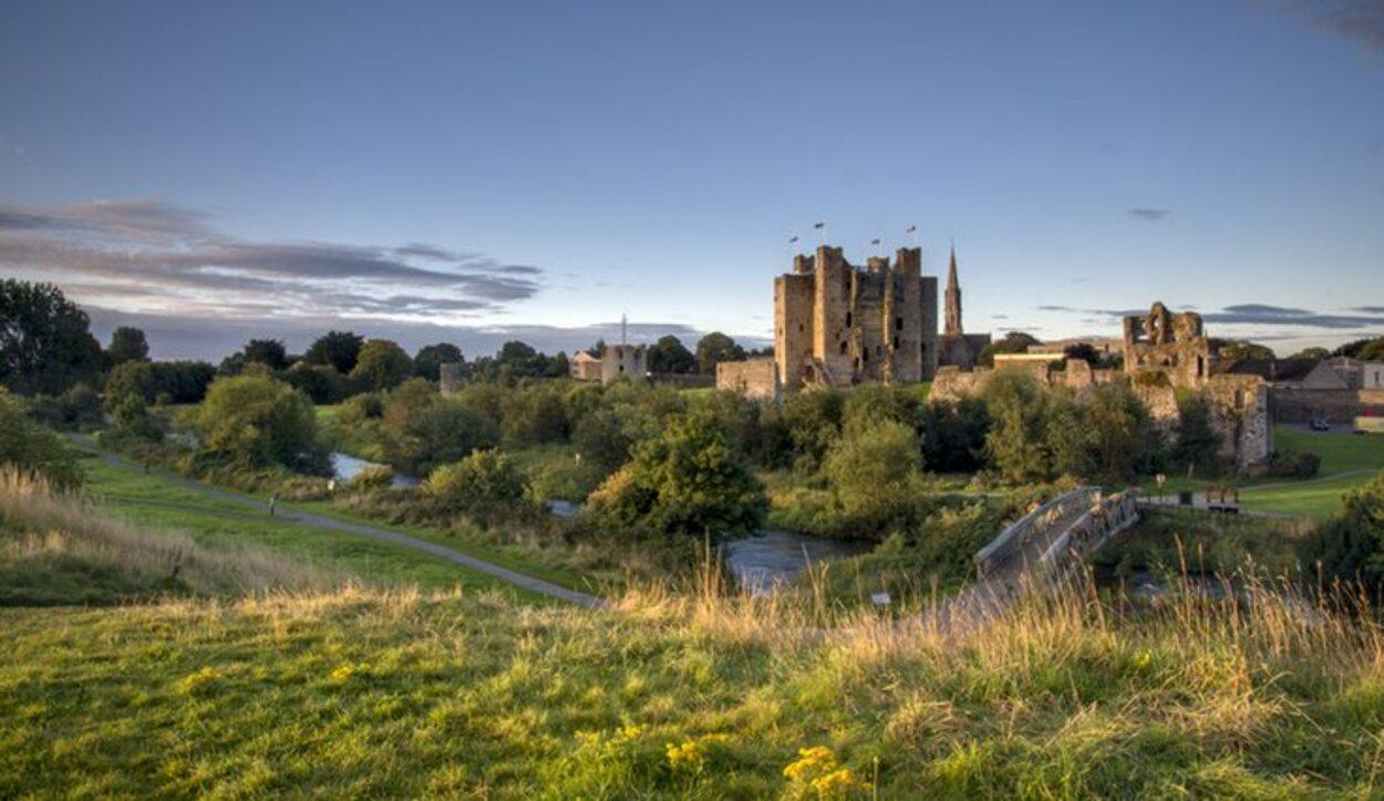 El Castillo de Trim tiene un torreón de 20 caras