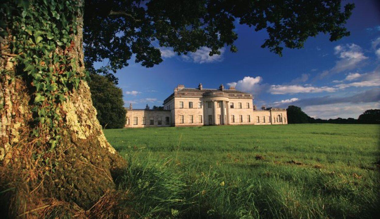 El Castillo de Coole es un una construcción de estilo mansión