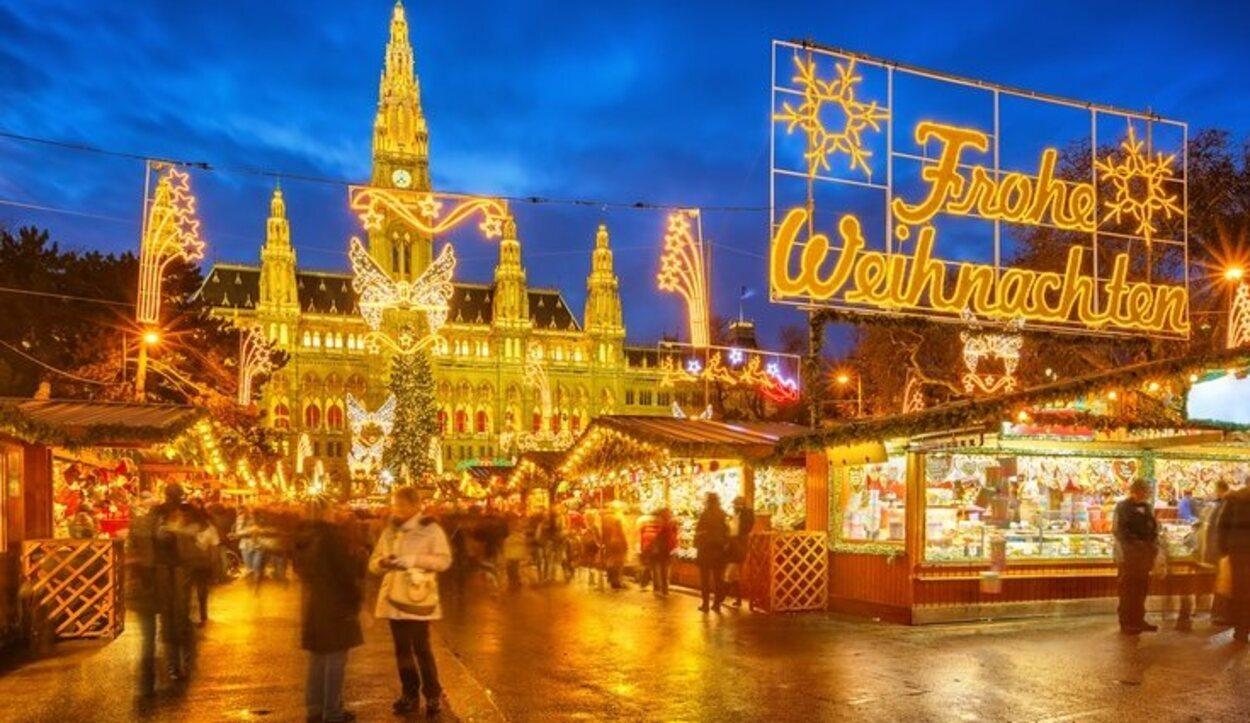 Conocido como Mercado tradicional del Christkindlmarkt