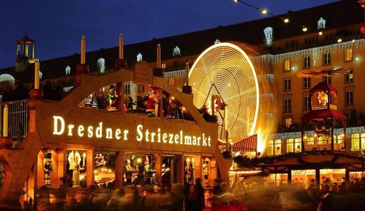 Está situado en la ciudad de Dresde